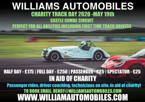 Williams Charity Track Day 2019 Half Day
